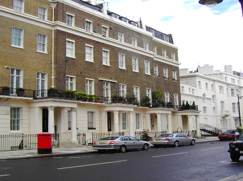 Eaton Place, London